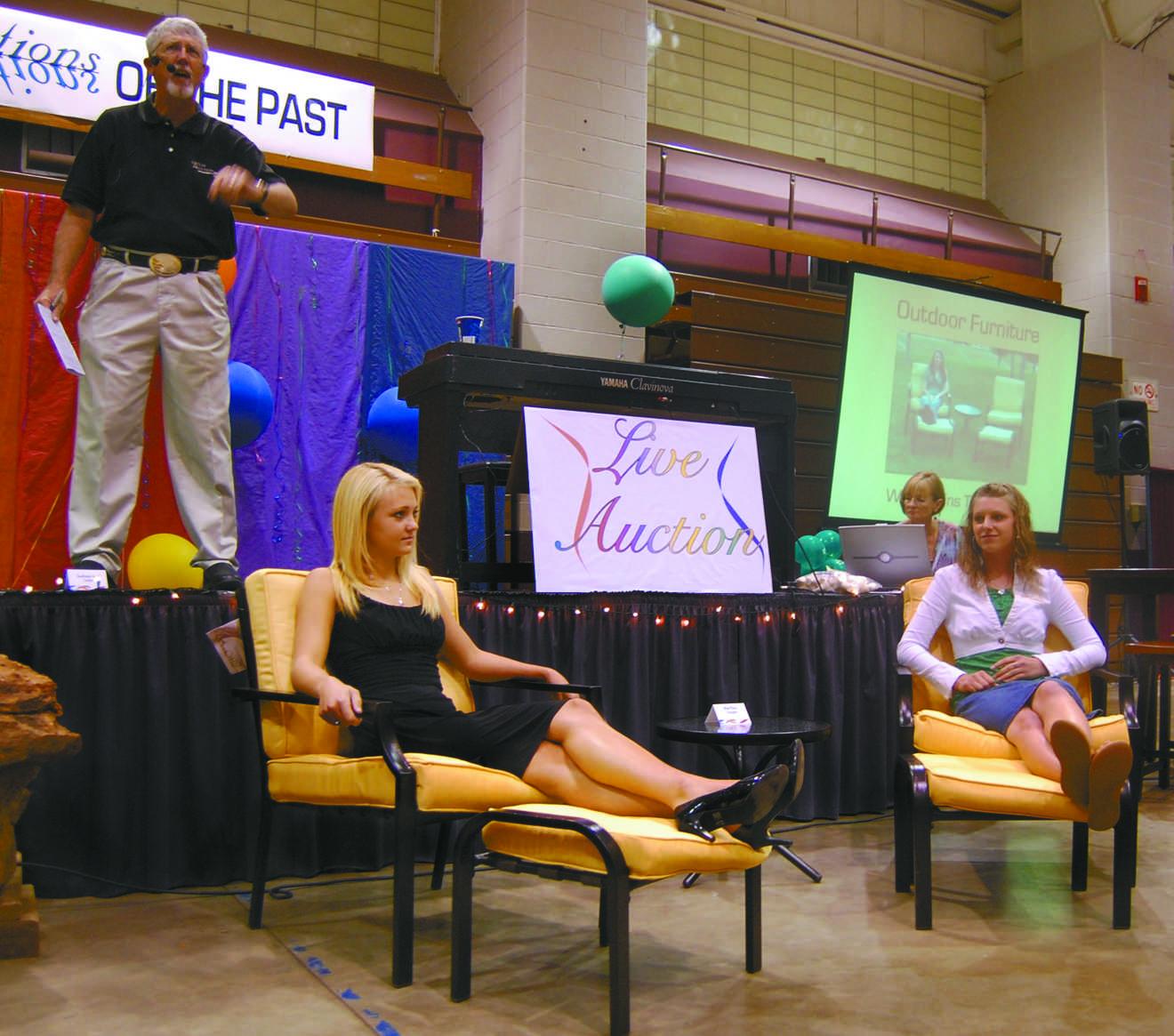 Scholarship Auction reflects past profits
