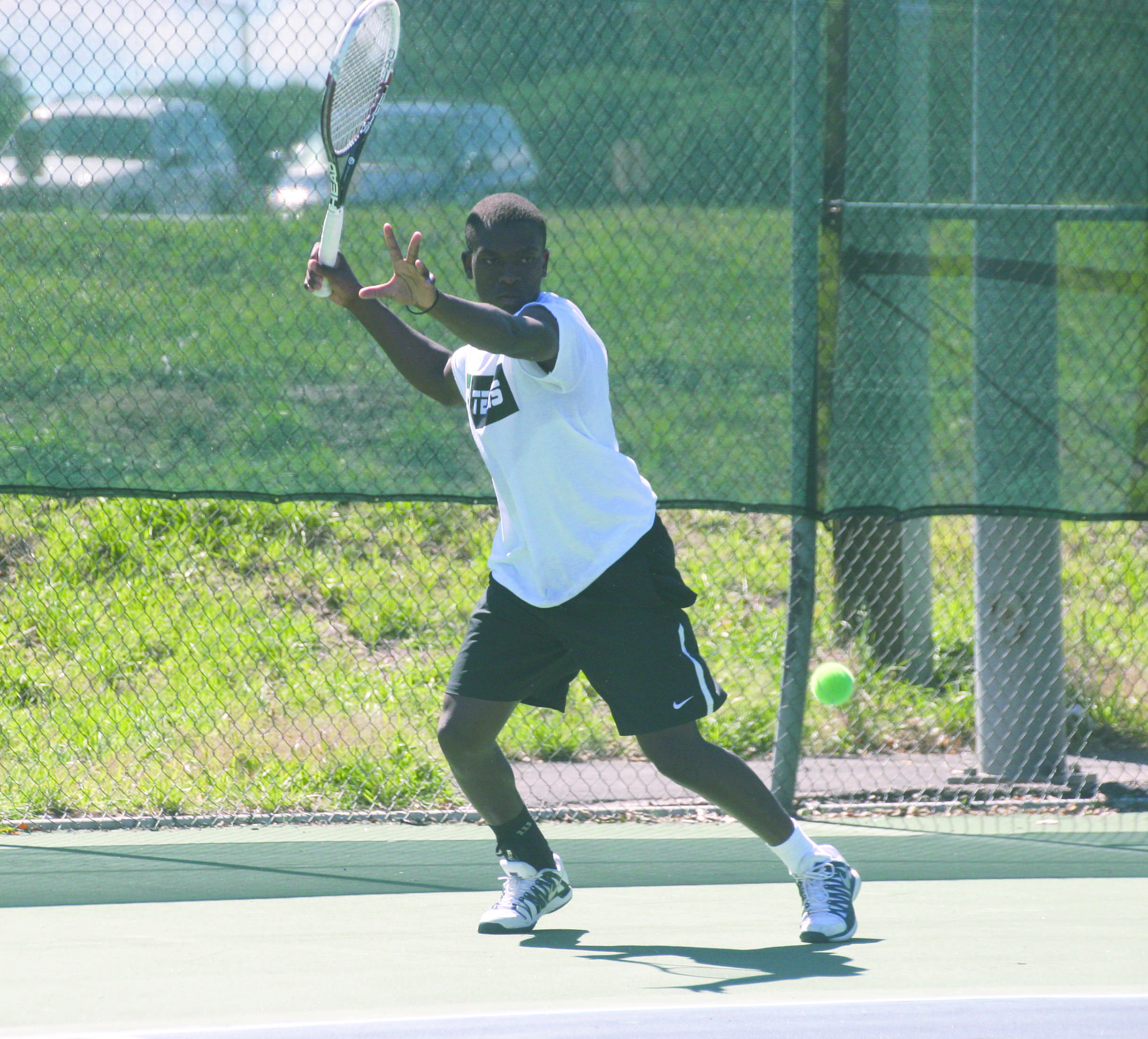 Top ranked player, Saurombe from Zimbabwe takes up challenge at nationals