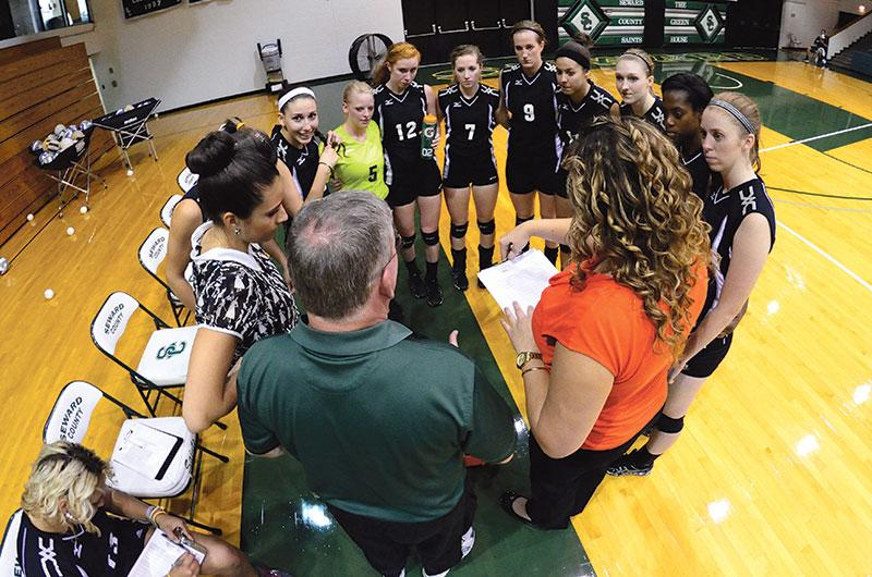 Lady Saints volleyball ends season at regional tournament