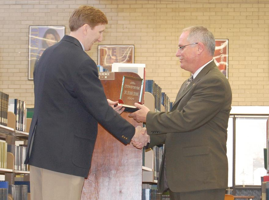 Dunn named Liberal Citizen of the year
