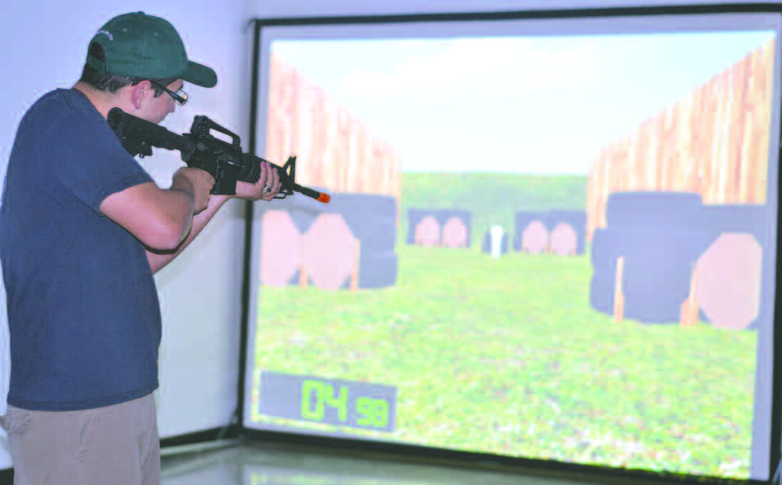 Firearms simulator shoots for Dec. 2 grand opening