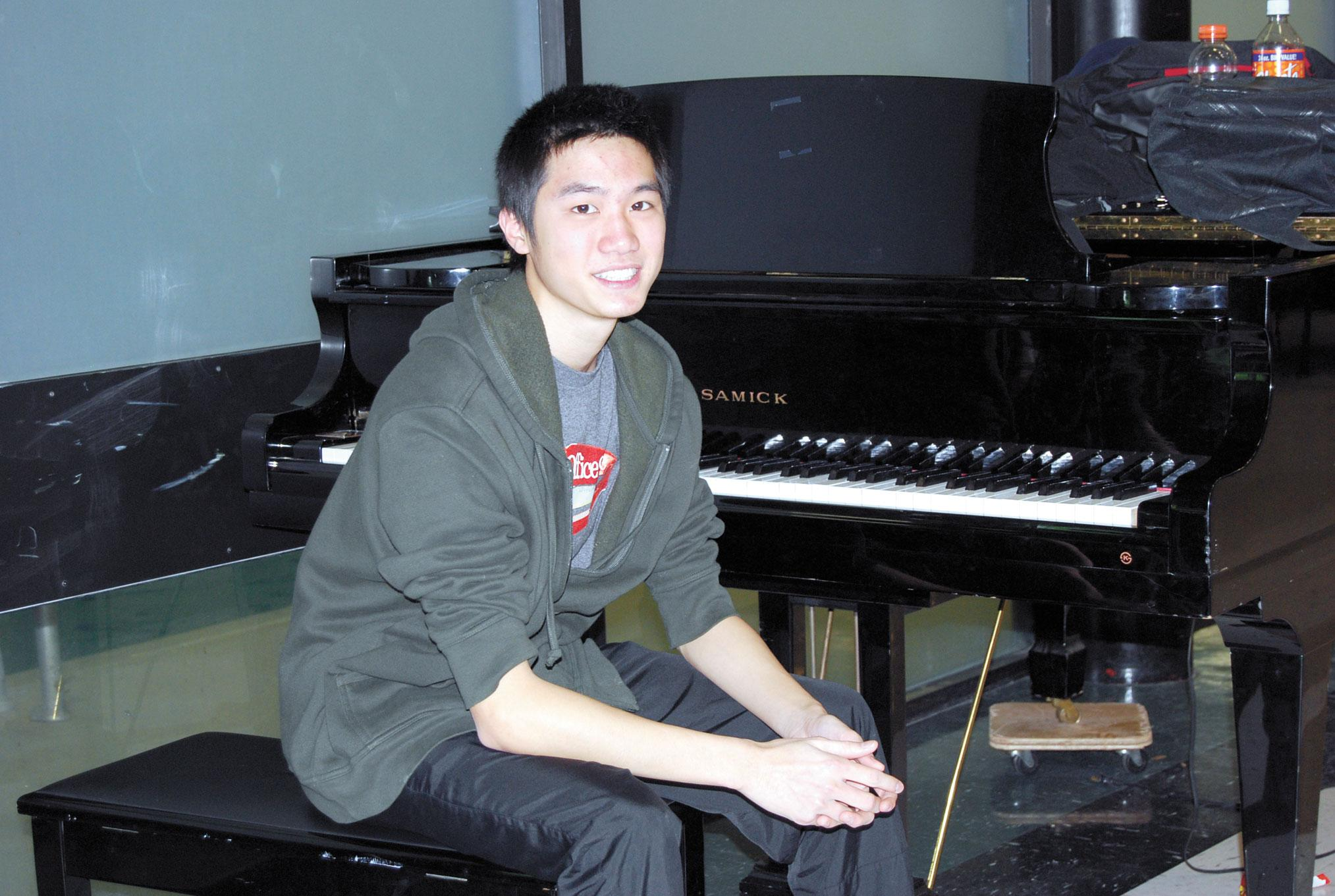 Student from Hong Kong studies at Seward