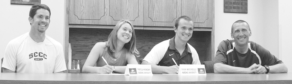 Education main focus for tennis signees