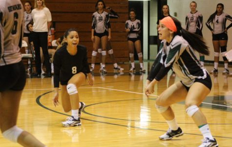 Lady Saints volleyball team ramps into victory over Butler