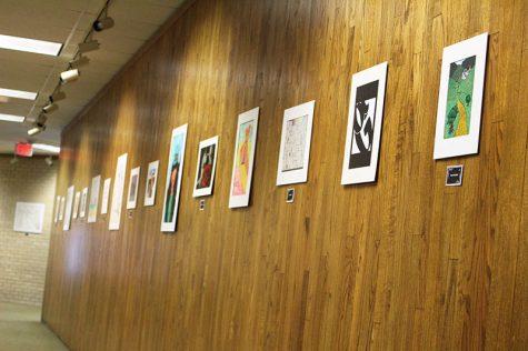Student art exhibit showcases artwork, photography from semester