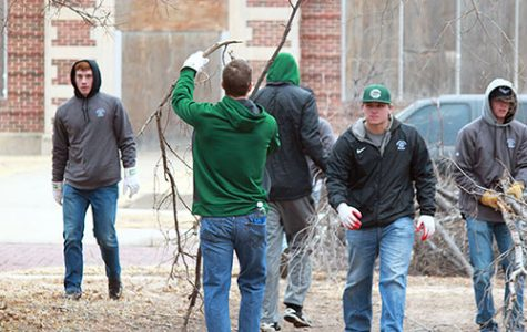 SCCC helps out with community cleanup