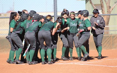 Lady Saints sweep Friends University