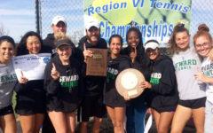 Lady Saints win the NJCAA Region VI Championship