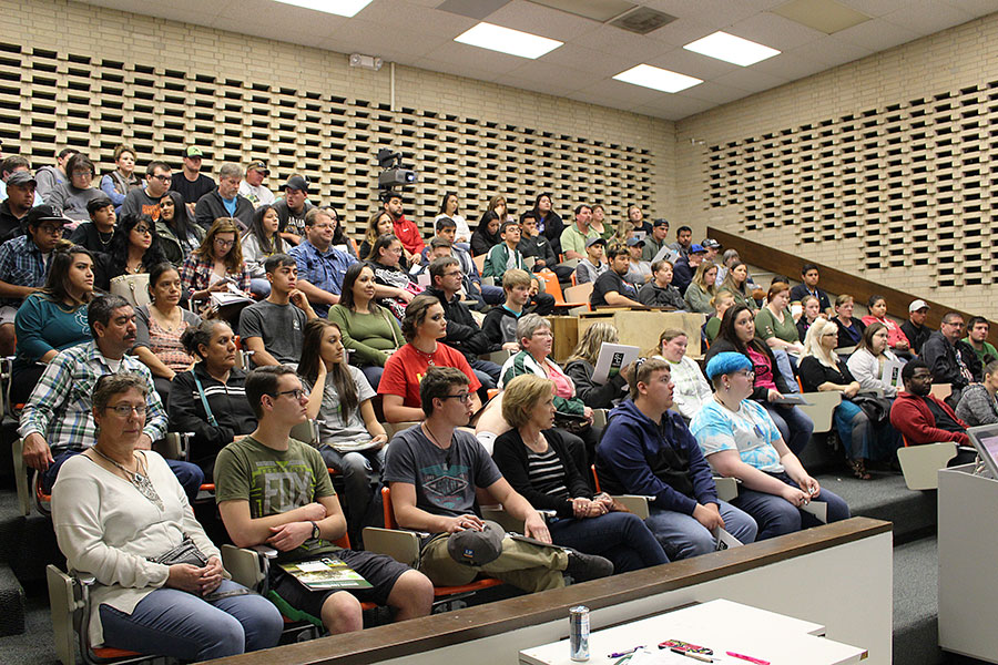 Incoming freshmen for fall 2017 go through orientation to learn about policies, student login, and more. Each year Seward County Community College hosts All Saints Day to help new students and parents prepare for college.