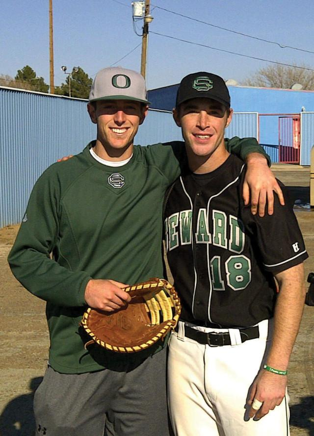 Saints baseball brothers: Nelsons join forces for Seward
