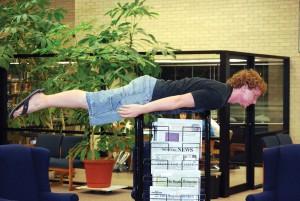 Saints jump on planking