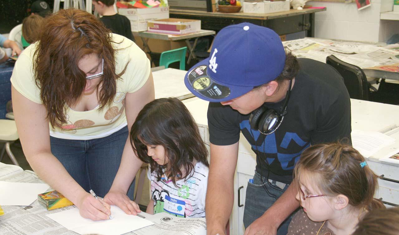 Art club teaches kids new skills