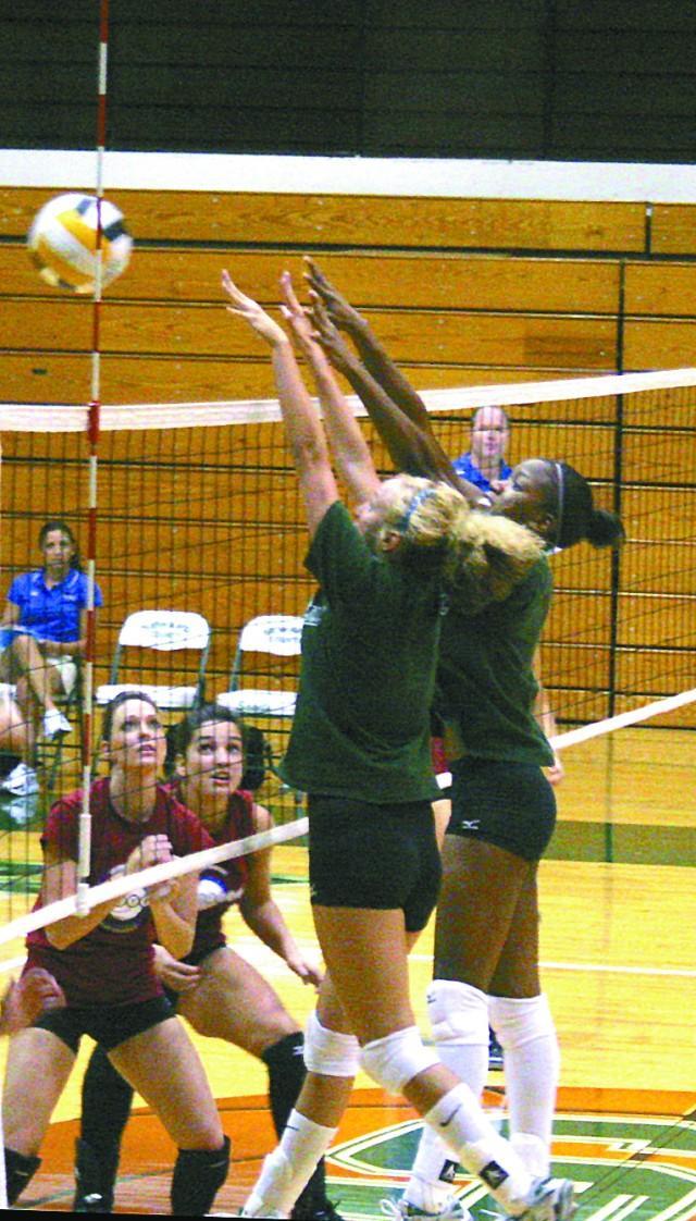 Volleyball tops Pratt, runs into stiff competition at tourney