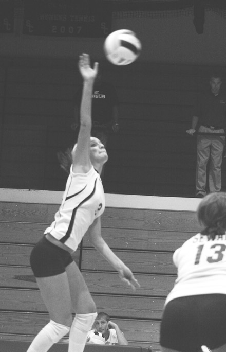 Volleyball prepares for '09