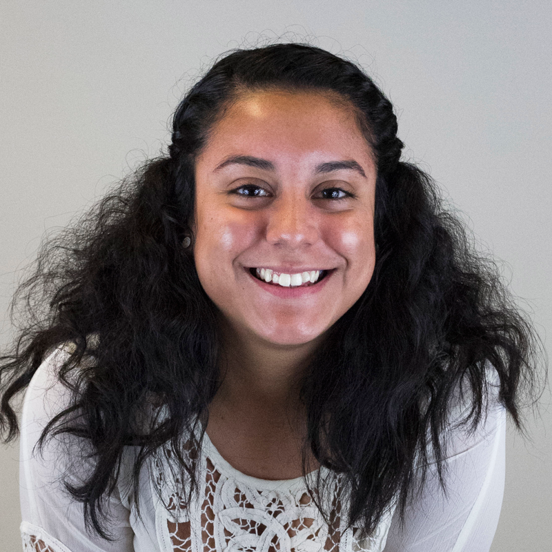 Magaly Guerrero is currently a freshman at Seward County Community College. She is a cheerleader and is a resident from Liberal, Kansas. Magaly plans to transfer back to Wichita State University to major in integrated marketing communications. While attending Wichita State Magaly was involved in student activities council,President of LAT.IN.A, and a mentor of the office of diversity. Magaly's hobbies include running, watching movies, and spending time with family and friends.
