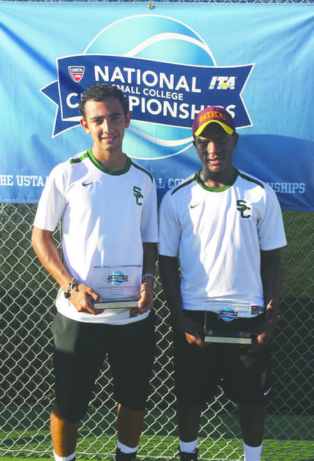 Saurombe and Gonzalez Champions
