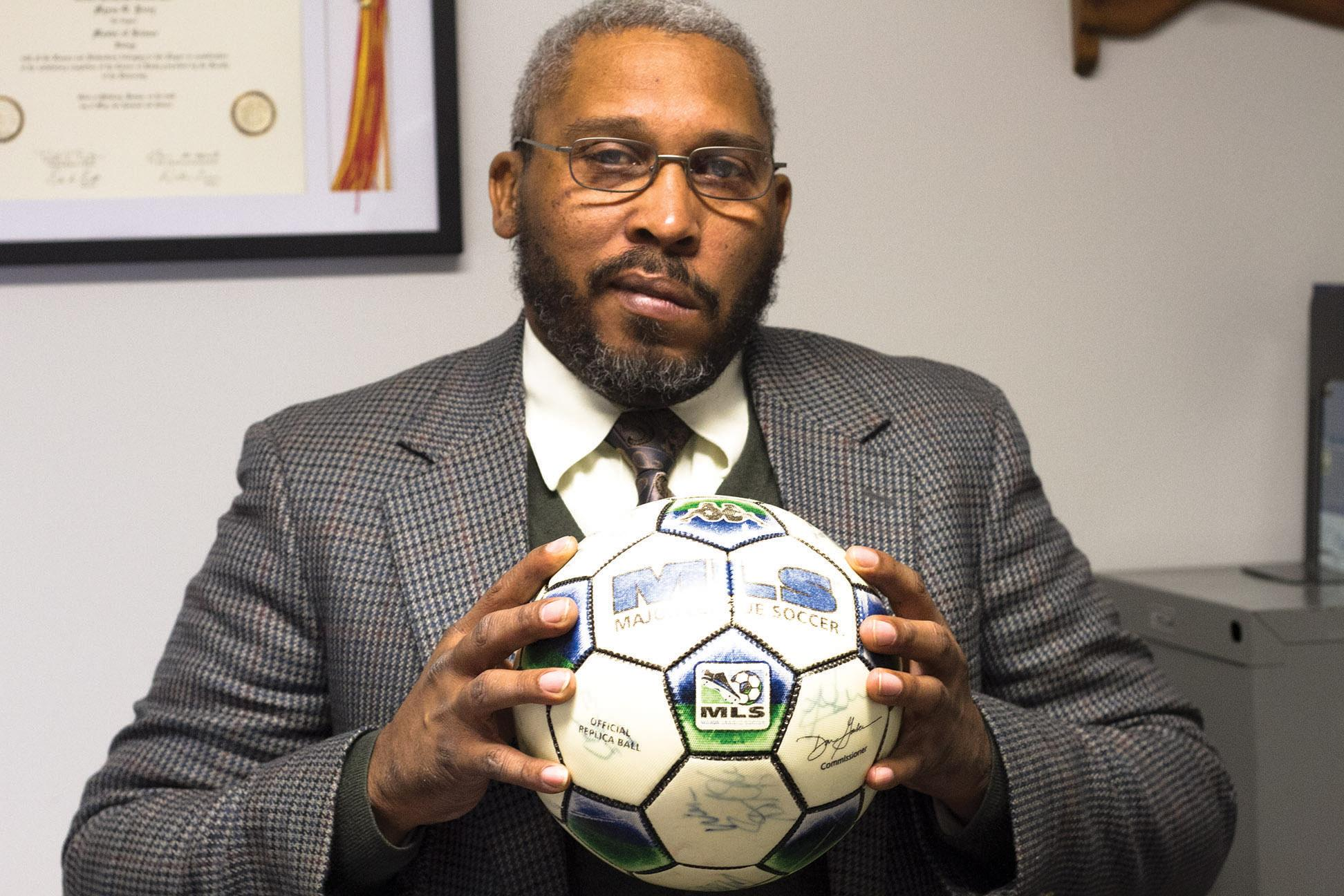 Professional soccer player now a professor