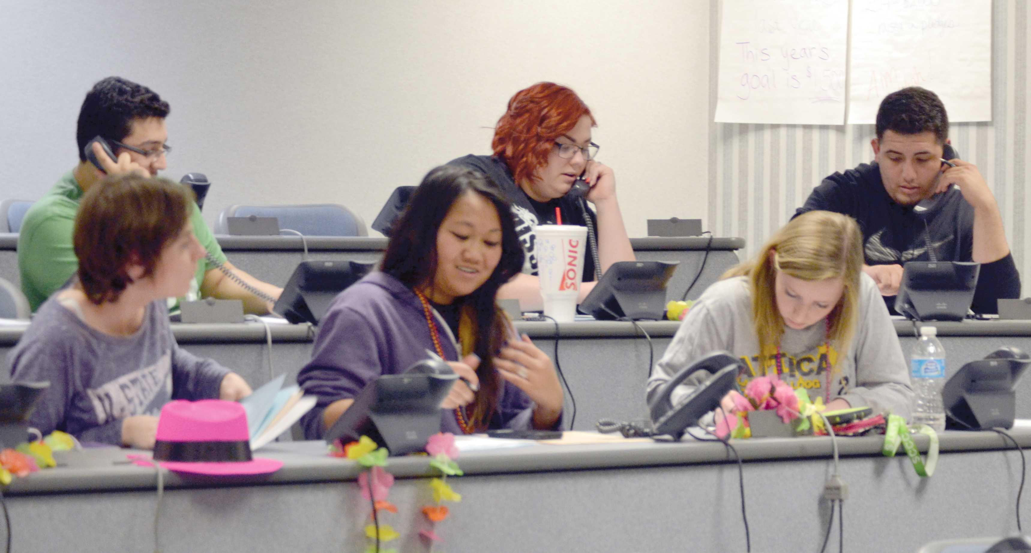 Phonathon raises scholarship money