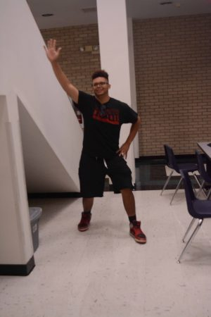 The Nae-Nae is a very popular dance that students do for fun on their free time.