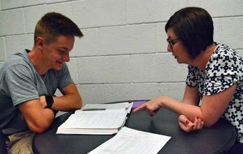 In order to prepare for an upcoming test Patrick Smith is seeking study tips from Mariah Cline. Mariah Cline is available to help students by appointment.