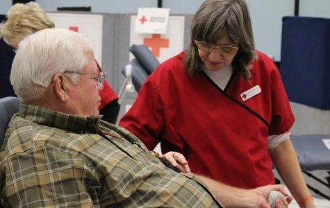 Saving a life-blood drive