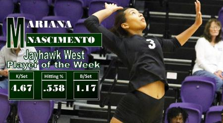 Nascimento Named Jayhawk Player of the Week For Second Straight Week