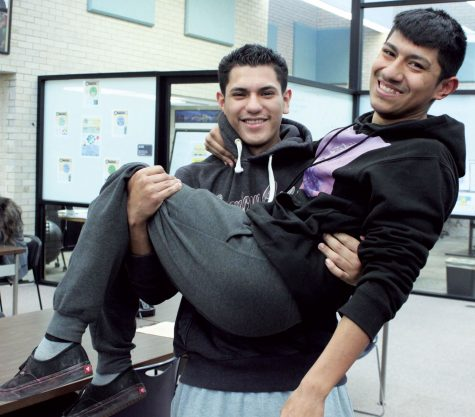"""Alexis Delgado and Erik Vasquez have been friends for 10 years. They have been through all the ups and downs. """"He's like my brother, he's always been there."""" Vasquez said."""