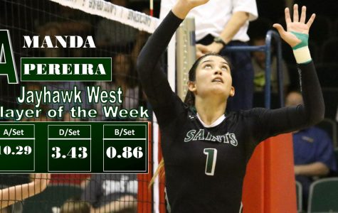 Amanda Pereira Named Jayhawk West Player of the Week