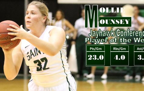 Seward sharpshooter Mounsey named Jayhawk player of the week