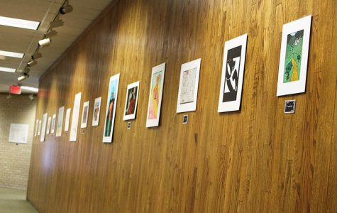 Student art exhibit showcases artwork, photography from semester