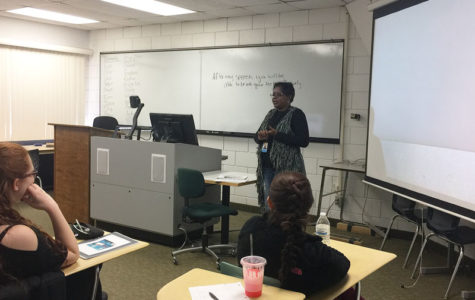 Williams speaks for Black History Month