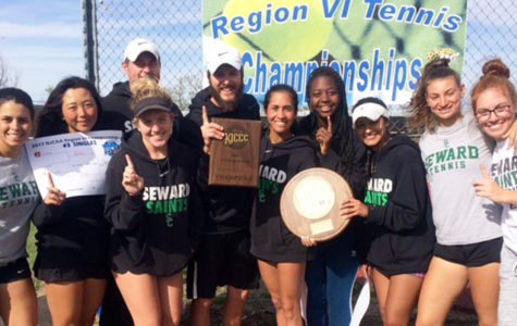 Lady Saints win the NJCAA Region VI Championship