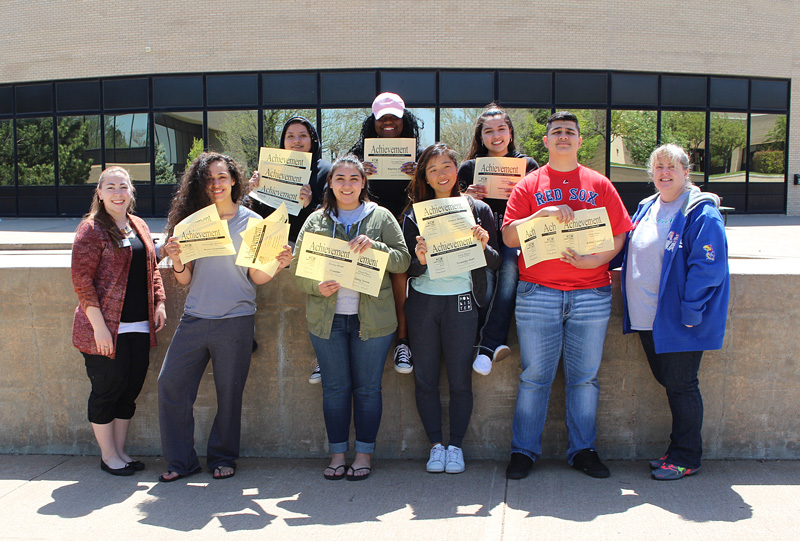 In total Crusader News staff received 18 awards in their print publication and their online publication. Several students won awards for individual works along with awards as a staff.