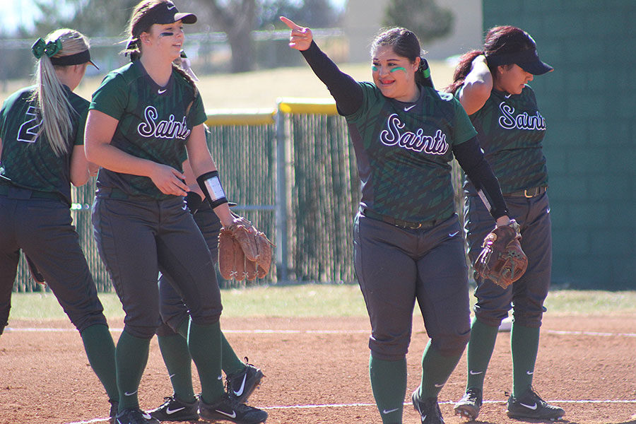 Sophomore infielder Kristyna Garcia,  has pitched for 48 games this season and has had 49 runs batted in.