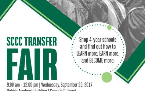 SCCC hosts transfer fair