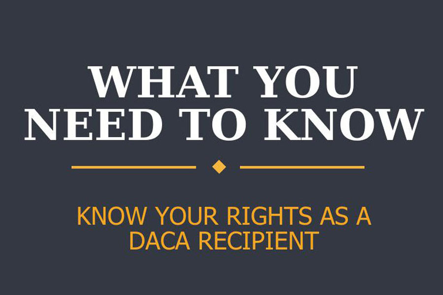 DACA allows young people who were brought to the U.S illegally as children to remain in the country.