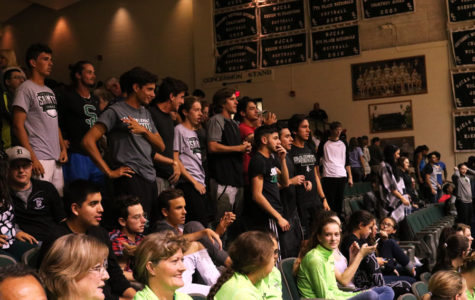 SCCC rowdy crowd consists of mostly the men's tennis team. The rowdy crowd get's very loud throughout the games, especially if the moment is highly intense.