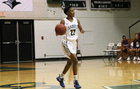 Lady Saints set a tone against the Thunderbirds in Concordia