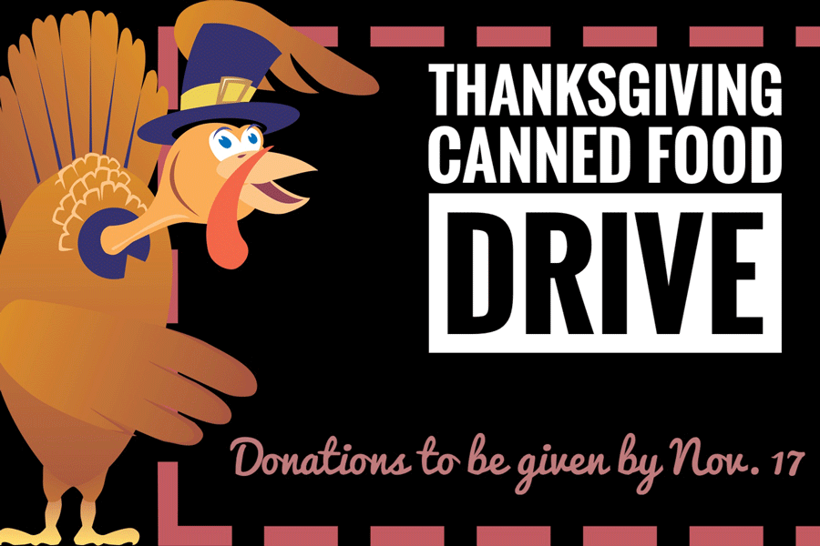 The Auto Body Collision Repair program is taking donations for their Thanksgiving baskets until Nov. 17. Donations can be dropped off in Celeste M. Donovan's or Travis Comb's office.