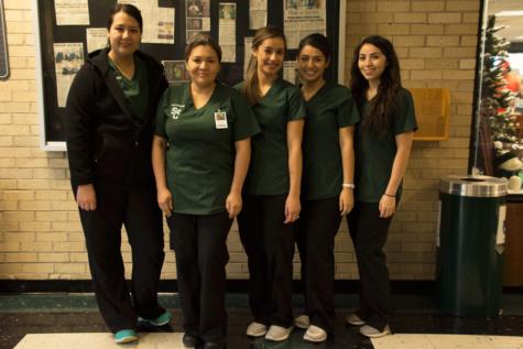 (left to right) Sandra Gonzalez, Ana Neave, Karina Vazquez, Karina Martinez, Nancy Acuna