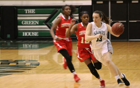 No. 8 Lady Saints win second revenge game