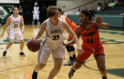Lady Saints nearly hold Neosho to keep streak alive