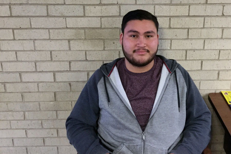 Freshman, Jesse Navarrete, plans to transfer to Kansas State University to pursue a degree in architectural engineering.
