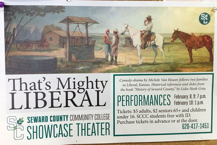 That's Mighty Liberal is a play written by SCCC theatre instructor, Michele Van Hessen and CJ Barton Carmichael.