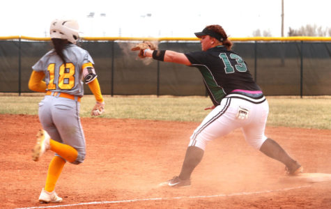 Lady Saints Softball remains undefeated in conference