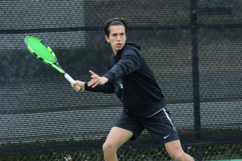 Men's Tennis remains undefeated