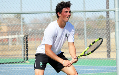 Saints and Lady Saints tennis defeats Cowley