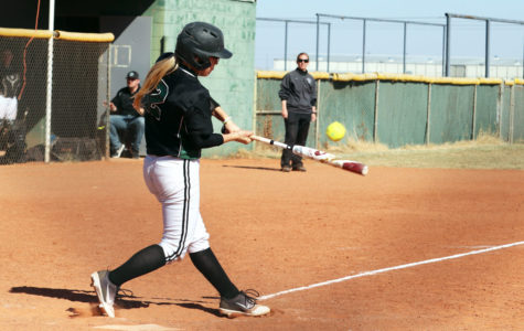Softball splits double-header against Clarendon