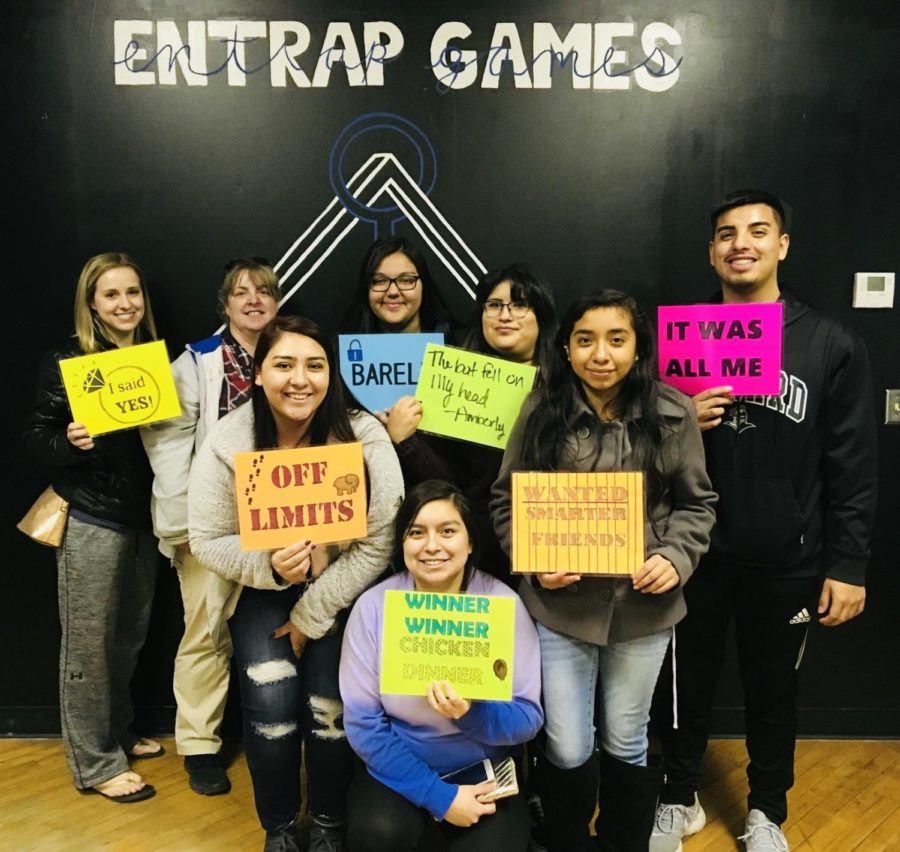 The+Crusader+staff+escaped+an+hour-long+escape+room+with+just+forty+seconds+left+to+spare.++Even+with+all+the+adrenaline+rushing+to+beat+the+clock+to+escape+the+Crusader+staff+enjoyed+this+experience.