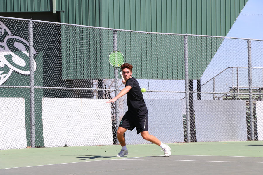 Roussets is a potential Division I tennis competitor. He hopes to receive offers from DI schools near Miami or New York.